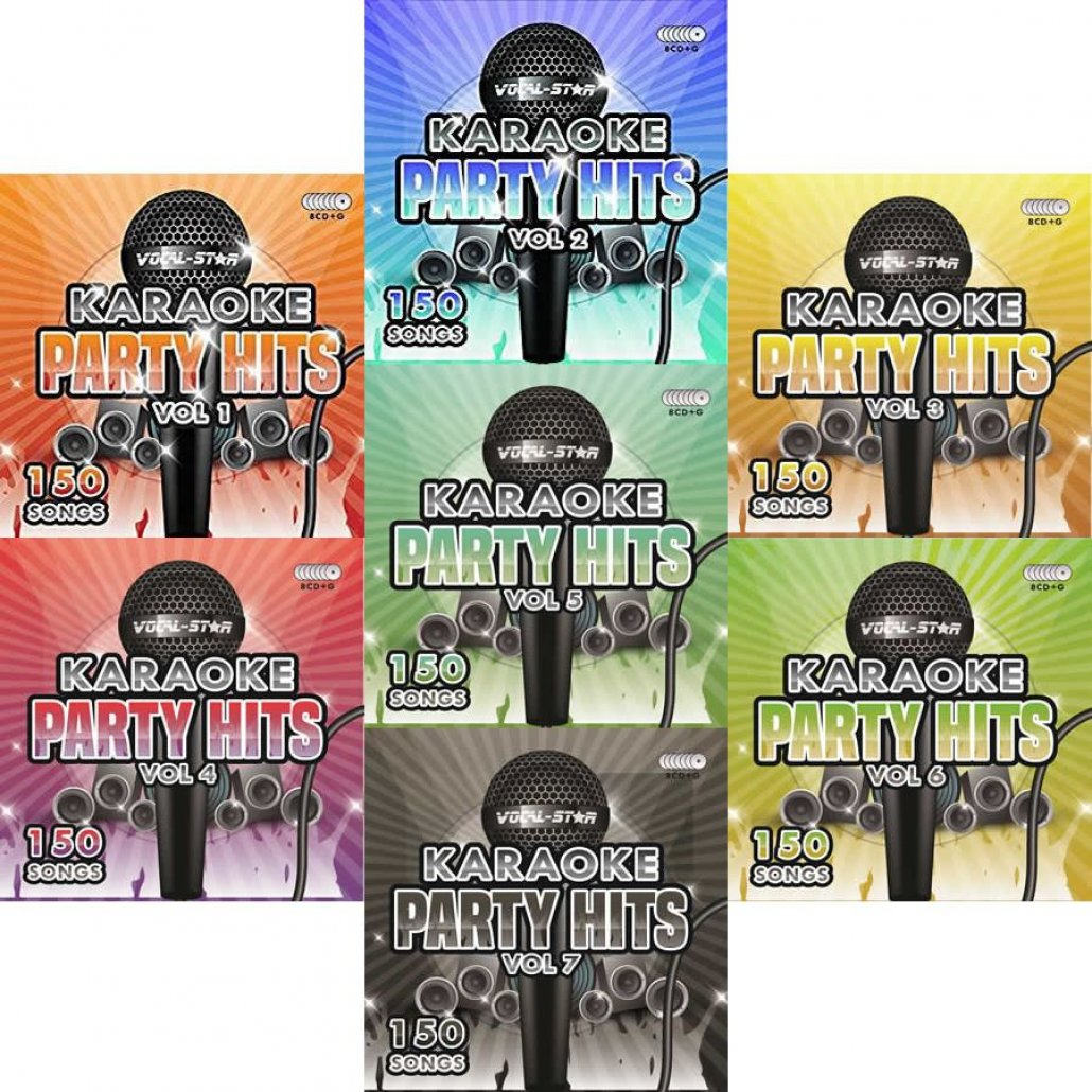 Vocal-Star Party Hits 1-7 - 1050 Song Bundle - Vocal Star