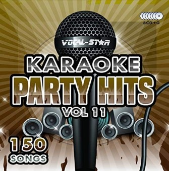 Vocal-Star Party Hits 11 Karaoke Disc Set 8 CDG Discs 150 Songs image