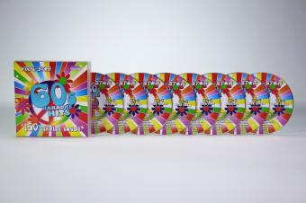 Vocal-Star 60s Karaoke Disc Set 8 CDG Discs 150 Songs image