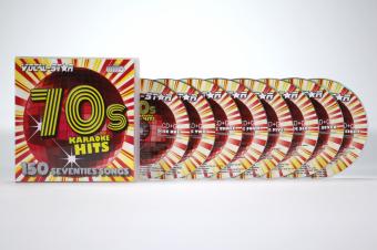 Vocal-Star 70s Karaoke Disc Set 8 CDG Discs 150 Songs image