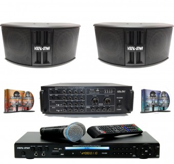 Vocal-Star Karaoke Party Set - Everything Included to get the party started image