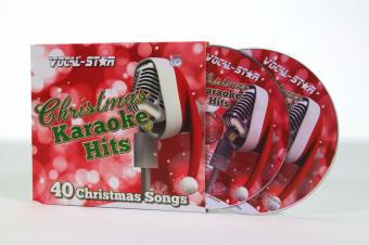 Vocal-Star Christmas Karaoke Disc Set 2 CDG Discs 40 Songs image