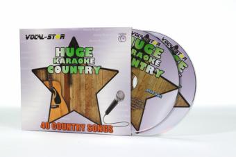 Vocal-Star Huge Karaoke Hits of Country - 40 Songs - 2 CDG Disc Set image