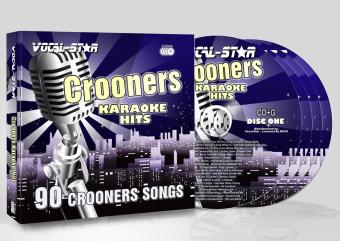 Vocal-Star Huge Karaoke Hits of Crooners - 40 Songs - 2 CDG Disc Set image