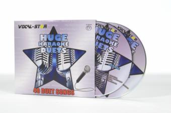 Vocal-Star Huge Karaoke Hits of Duets - 40 Songs - 2 CDG Disc Set image