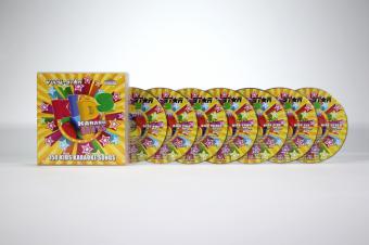 Vocal-Star Kids Karaoke Disc Set 7 CDG Discs 150 Songs image