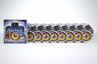 Vocal-Star Male Karaoke Disc Set 8 CDG Discs 150 Songs image