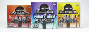 Vocal-Star Party Hits 1-3 - 450 Song Bundle image