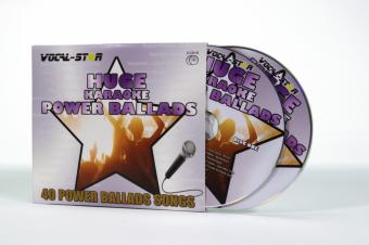 Vocal-Star Huge Karaoke Hits of Power Ballads - 40 Songs - 2 CDG Disc Set image