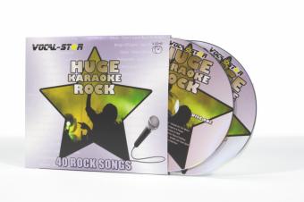 Vocal-Star Huge Karaoke Hits of Rock - 40 Songs - 2 CDG Disc Set image