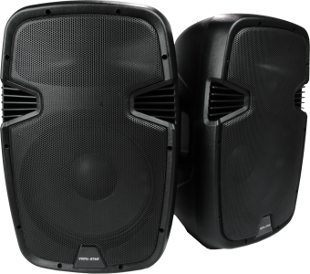 "Vocal-Star PA 15"" 1600w Speaker System with Bluetooth MP3 Inputs image"