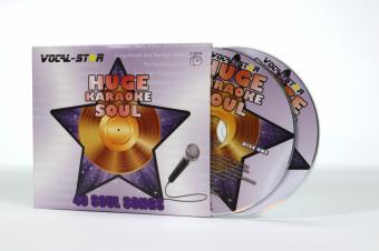 Vocal-Star Huge Karaoke Hits of Soul - 40 Songs - 2 CDG Disc Set image