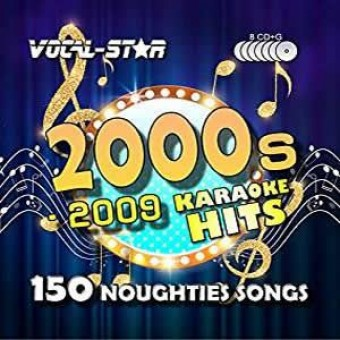 Vocal-Star 00s Karaoke Disc Set 8 CDG Discs 150 Songs image