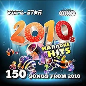 Vocal-Star 10s Karaoke Disc Set 8 CDG Discs 150 Songs image