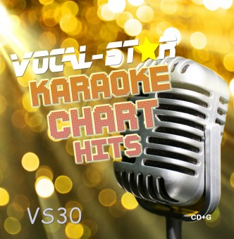 Vocal-Star VS30 Hits of June and July CDG Disc image