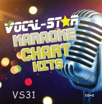 Vocal-Star VS31 Hits of August and September CDG Disc image