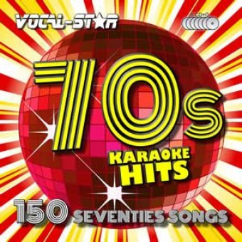 Vocal-Star 70s Karaoke Disc Set 8 CDG Discs 150 Songs image