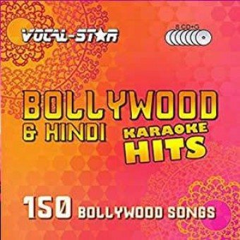 Vocal-Star Bollywood Karaoke Disc Set 8 CDG Discs 150 Songs image