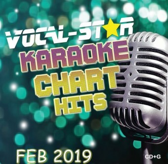 Vocal-Star February 2019 Hits CD+G Disc image