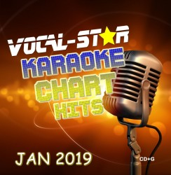 Vocal-Star January 2019 Hits CD+G Disc image