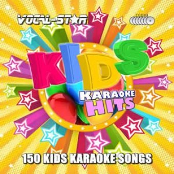 Vocal-Star Kids Karaoke Disc Set 7 CDG Discs 150 Songs image