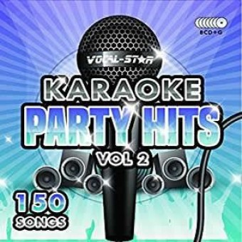 Vocal-Star Party Hits 2 Karaoke Disc Set 8 CDG Discs 150 Songs image