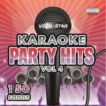 Vocal-Star Party Hits 4 Karaoke Disc Set 8 CDG Discs 150 Songs image