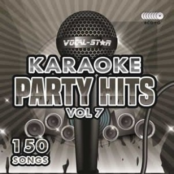 Vocal-Star Party Hits 7 Karaoke Disc Set 8 CDG Discs 150 Songs image