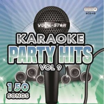 Vocal-Star Party Hits 9 Karaoke Disc Set 8 CDG Discs 150 Songs image