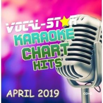 Vocal-Star April 2019 Hits CD+G Disc image