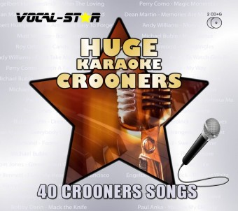 Vocal-Star Huge Karaoke Hits of Crooners - 40 Songs - 2 CDG Disc Set image