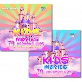Vocal-Star Karaoke Kids Movies 6 CDG Disc Bundle 140 Songs (70 With Lead Vocals) image