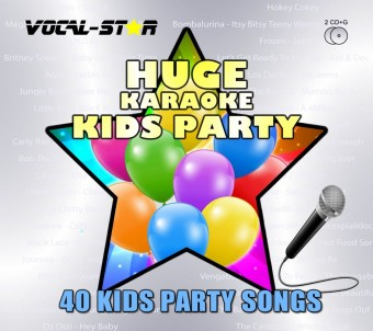 Vocal-Star Huge Karaoke Hits of Kids Party - 40 Songs - 2 CDG Disc Set image