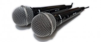 2x MP408 Wired Microphones image