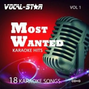Vocal-Star Most Wanted karaoke CDG Disc Set - 18 Songs ( Vol 1) image