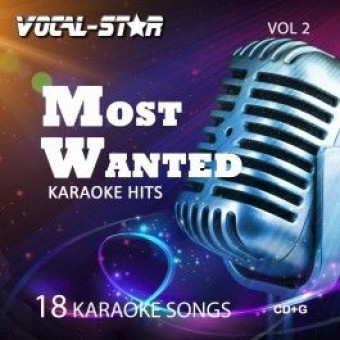 Vocal-Star Most Wanted karaoke CDG Disc Set - 18 Songs ( Vol 2) image