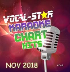 Vocal-Star November 2018 Hits CD+G Disc image