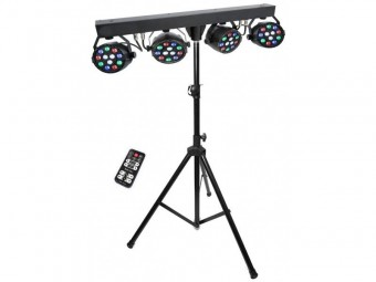 LED Effects lighting Bar Including Stand & Remote Control image