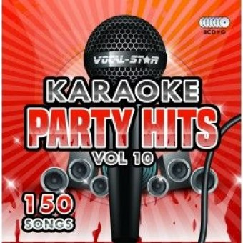 Vocal-Star Party Hits 10 Karaoke Disc Set 8 CDG Discs 150 Songs image