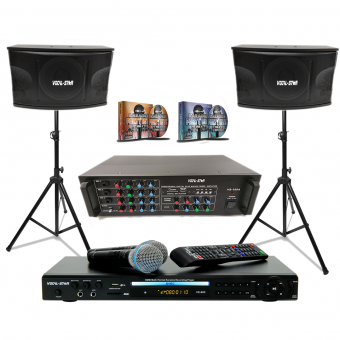 Vocal-Star Karaoke Party Pack With 300 Top Songs image