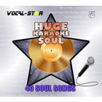 Vocal-Star Huge Karaoke Hits of Soul - 40 Songs - 2 CDG Disc Set image