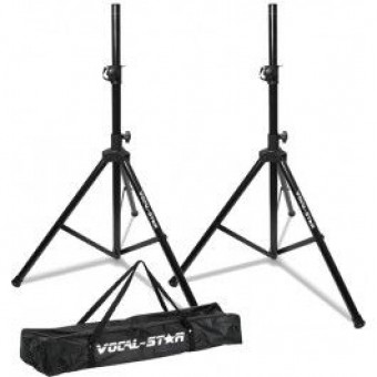 Vocal Star SS-1 High Quality Tripod Speaker Stand Kit & Carry Bag image