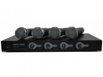 Vocal-Star 4 UHF Wireless Microphones image