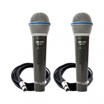 2x MP508 Wired Microphones image